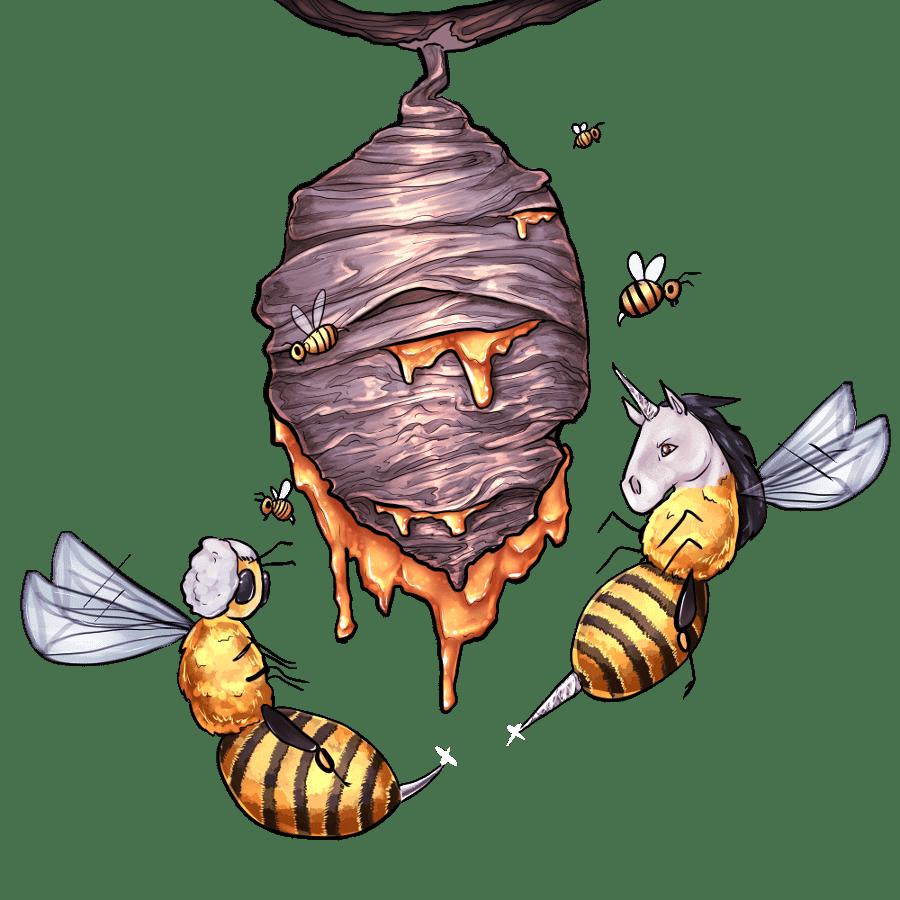 Honigstock